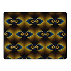 Fractal Multicolored Background Double Sided Fleece Blanket (small)  by Simbadda