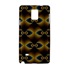 Fractal Multicolored Background Samsung Galaxy Note 4 Hardshell Case by Simbadda