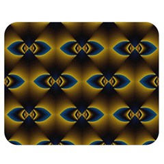 Fractal Multicolored Background Double Sided Flano Blanket (medium)  by Simbadda