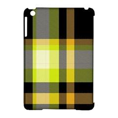 Tartan Pattern Background Fabric Design Apple Ipad Mini Hardshell Case (compatible With Smart Cover) by Simbadda
