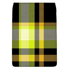 Tartan Pattern Background Fabric Design Flap Covers (l)  by Simbadda