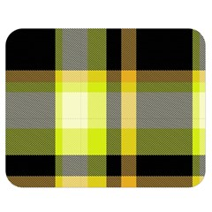 Tartan Pattern Background Fabric Design Double Sided Flano Blanket (medium)  by Simbadda