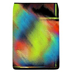 Punctulated Colorful Ground Noise Nervous Sorcery Sight Screen Pattern Flap Covers (s)  by Simbadda