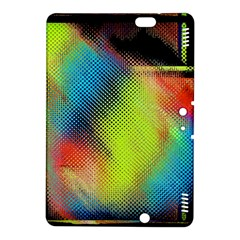 Punctulated Colorful Ground Noise Nervous Sorcery Sight Screen Pattern Kindle Fire Hdx 8 9  Hardshell Case by Simbadda