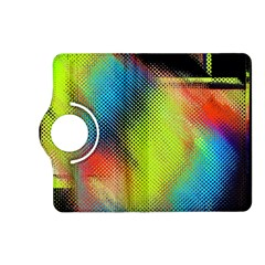 Punctulated Colorful Ground Noise Nervous Sorcery Sight Screen Pattern Kindle Fire Hd (2013) Flip 360 Case by Simbadda