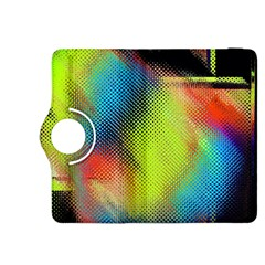 Punctulated Colorful Ground Noise Nervous Sorcery Sight Screen Pattern Kindle Fire Hdx 8 9  Flip 360 Case by Simbadda