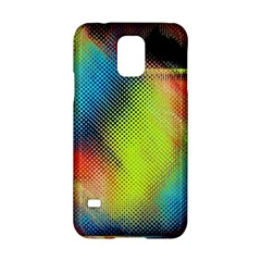 Punctulated Colorful Ground Noise Nervous Sorcery Sight Screen Pattern Samsung Galaxy S5 Hardshell Case  by Simbadda