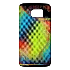 Punctulated Colorful Ground Noise Nervous Sorcery Sight Screen Pattern Galaxy S6 by Simbadda