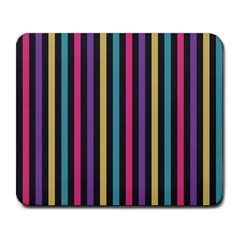 Stripes Colorful Multi Colored Bright Stripes Wallpaper Background Pattern Large Mousepads by Simbadda