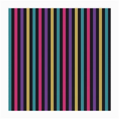 Stripes Colorful Multi Colored Bright Stripes Wallpaper Background Pattern Medium Glasses Cloth by Simbadda