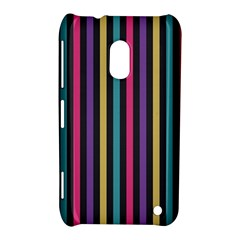 Stripes Colorful Multi Colored Bright Stripes Wallpaper Background Pattern Nokia Lumia 620 by Simbadda