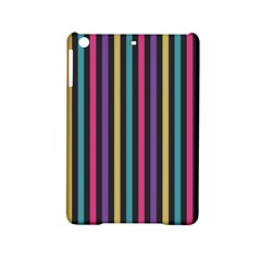Stripes Colorful Multi Colored Bright Stripes Wallpaper Background Pattern Ipad Mini 2 Hardshell Cases by Simbadda