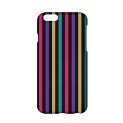 Stripes Colorful Multi Colored Bright Stripes Wallpaper Background Pattern Apple Iphone 6/6s Hardshell Case by Simbadda