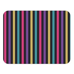 Stripes Colorful Multi Colored Bright Stripes Wallpaper Background Pattern Double Sided Flano Blanket (large)  by Simbadda