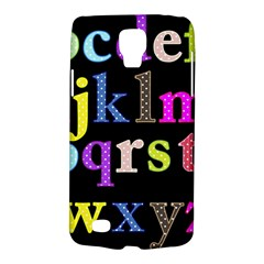 Alphabet Letters Colorful Polka Dots Letters In Lower Case Galaxy S4 Active