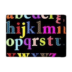 Alphabet Letters Colorful Polka Dots Letters In Lower Case iPad Mini 2 Flip Cases