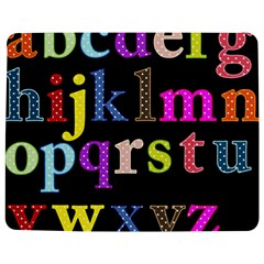 Alphabet Letters Colorful Polka Dots Letters In Lower Case Jigsaw Puzzle Photo Stand (Rectangular)