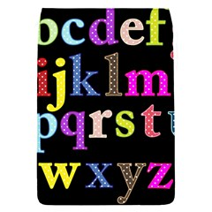 Alphabet Letters Colorful Polka Dots Letters In Lower Case Flap Covers (s)  by Simbadda