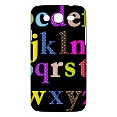 Alphabet Letters Colorful Polka Dots Letters In Lower Case Samsung Galaxy Mega 5 8 I9152 Hardshell Case  by Simbadda