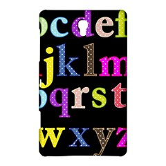Alphabet Letters Colorful Polka Dots Letters In Lower Case Samsung Galaxy Tab S (8 4 ) Hardshell Case  by Simbadda