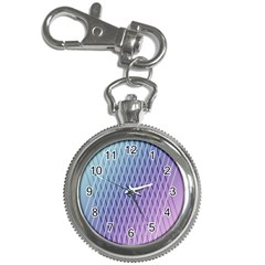 Abstract Lines Background Key Chain Watches by Simbadda