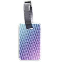 Abstract Lines Background Luggage Tags (one Side)  by Simbadda