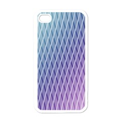 Abstract Lines Background Apple Iphone 4 Case (white) by Simbadda
