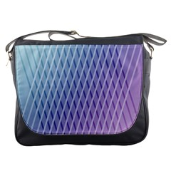 Abstract Lines Background Messenger Bags by Simbadda