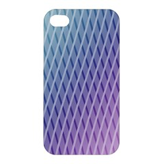 Abstract Lines Background Apple Iphone 4/4s Premium Hardshell Case by Simbadda