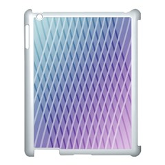 Abstract Lines Background Apple Ipad 3/4 Case (white) by Simbadda