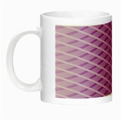 Abstract Lines Background Pattern Night Luminous Mugs by Simbadda