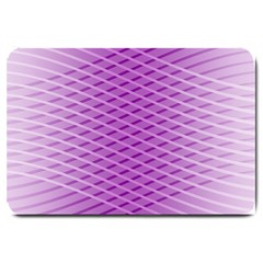 Abstract Lines Background Pattern Large Doormat  by Simbadda