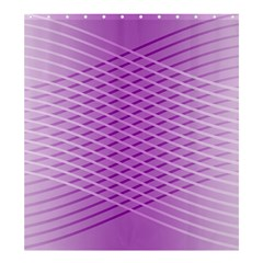 Abstract Lines Background Pattern Shower Curtain 66  X 72  (large)  by Simbadda