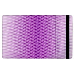 Abstract Lines Background Pattern Apple Ipad 3/4 Flip Case by Simbadda