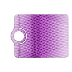 Abstract Lines Background Pattern Kindle Fire Hd (2013) Flip 360 Case by Simbadda