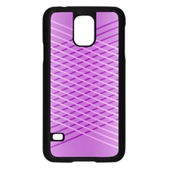 Abstract Lines Background Pattern Samsung Galaxy S5 Case (black) by Simbadda