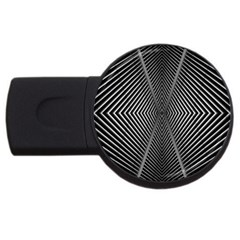Abstract Of Shutter Lines Usb Flash Drive Round (2 Gb) by Simbadda