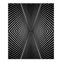 Abstract Of Shutter Lines Shower Curtain 60  X 72  (medium)  by Simbadda