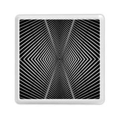Abstract Of Shutter Lines Memory Card Reader (square)  by Simbadda