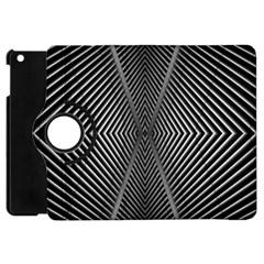 Abstract Of Shutter Lines Apple Ipad Mini Flip 360 Case by Simbadda