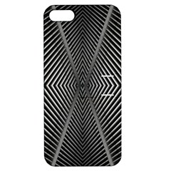 Abstract Of Shutter Lines Apple Iphone 5 Hardshell Case With Stand by Simbadda