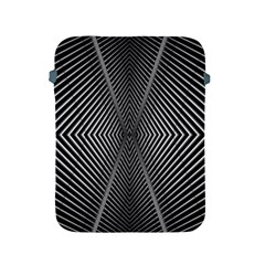 Abstract Of Shutter Lines Apple Ipad 2/3/4 Protective Soft Cases by Simbadda