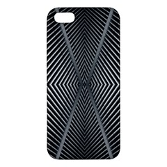 Abstract Of Shutter Lines iPhone 5S/ SE Premium Hardshell Case