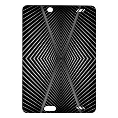 Abstract Of Shutter Lines Amazon Kindle Fire Hd (2013) Hardshell Case by Simbadda