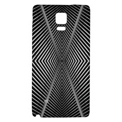 Abstract Of Shutter Lines Galaxy Note 4 Back Case by Simbadda