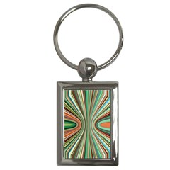 Colorful Spheric Background Key Chains (rectangle)  by Simbadda