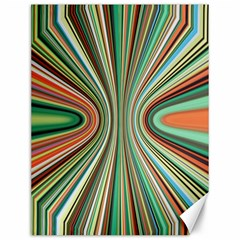 Colorful Spheric Background Canvas 12  X 16   by Simbadda