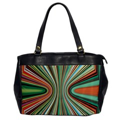 Colorful Spheric Background Office Handbags by Simbadda