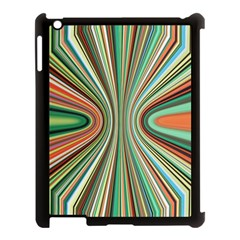 Colorful Spheric Background Apple Ipad 3/4 Case (black) by Simbadda