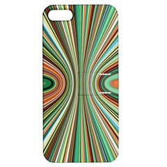 Colorful Spheric Background Apple Iphone 5 Hardshell Case With Stand by Simbadda